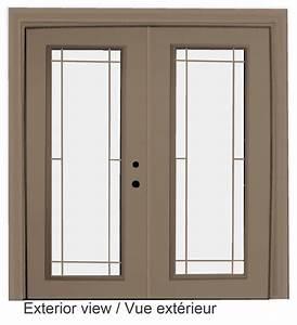 Stanley doors porte fenetre en acier style prairie for Porte fenetre exterieur