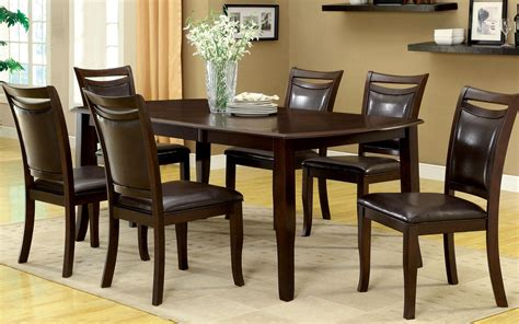 Dining Room Tables Sets by Furniture Of America Carlson 7 Dining
