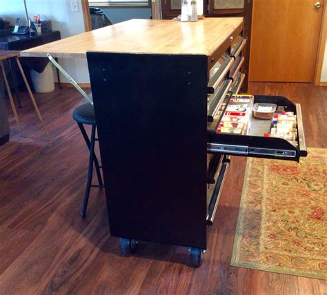 tool box    kitchen island  side bar