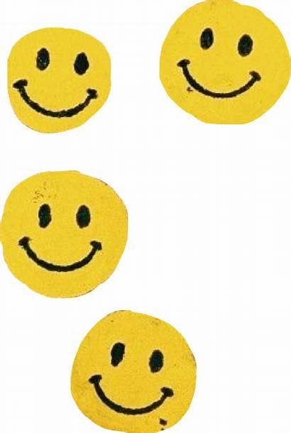 Vsco Sticker Smile Happy Cool Chalk Yellow