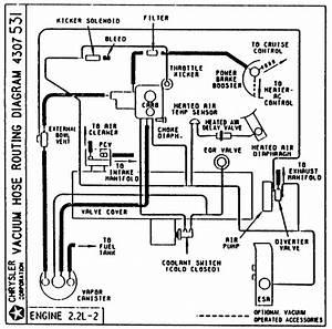 1984 Dodge Rampage Vacuum Diagram  Dodge  Auto Wiring Diagram