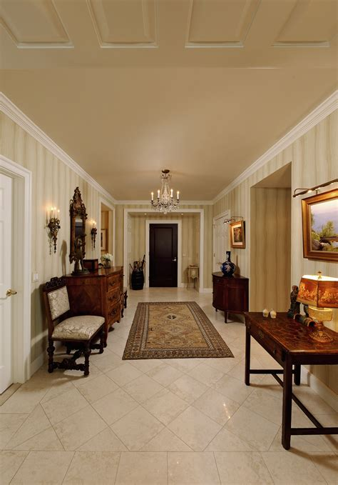traditional chevy chase maryland condominium renovation