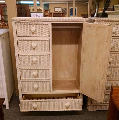 wicker childs chifferobe delmarva furniture consignment