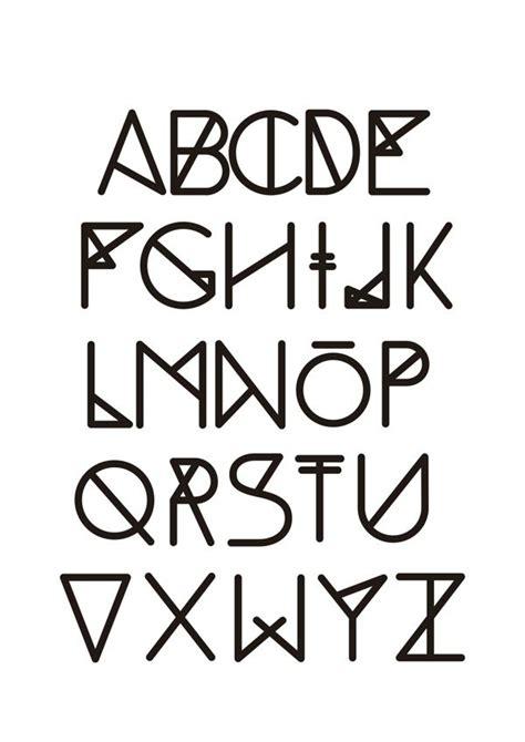 geometric tattoo font tattoo ideas pinterest fonts typography and tattoo fonts
