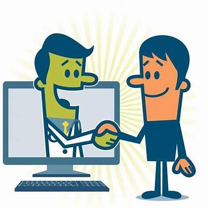 Connection Virtual Patients Hands Shaking Handshake Doctor