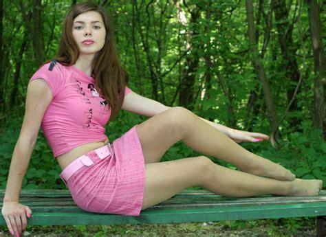 pantyhose stocking tights nylon sexy babe brunette g