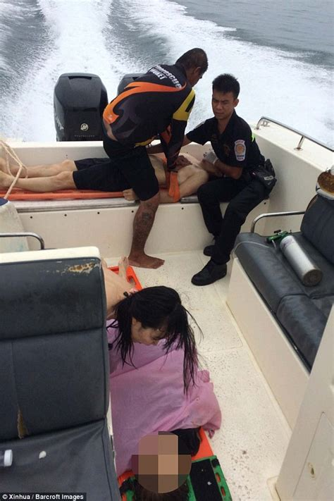 Two Speedboats Collide In Thailand Leaving Two Tourists