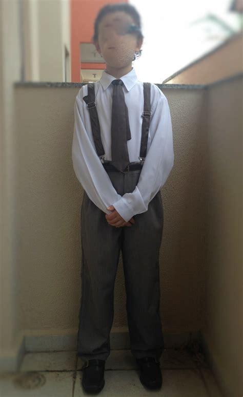 roupa social menino  anos  anos  ficou pequeno