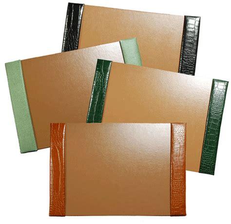 large desk blotter paper 18 quot x 24 quot crocodile textured leather desk pads croco