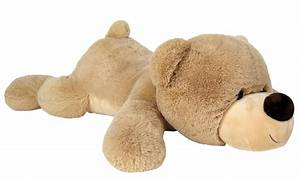 Teddybär Xxl Günstig : xxl riesen teddyb r 140 cm gro beige liegend kuschelqualit t vom feinsten ~ Orissabook.com Haus und Dekorationen