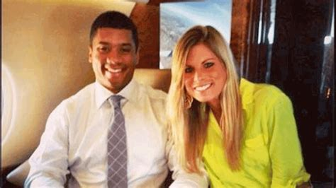russell wilsons  wife allegedly