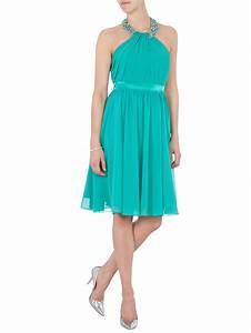 Kleider In Türkis : luxuar cocktailkleid mit collierkragen mit ziersteinbesatz in gr n online kaufen 9293457 ~ Watch28wear.com Haus und Dekorationen