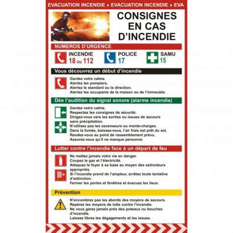 fournitures de bureau pour entreprises et professionnels affichage obligatoire consignes en cas d 39 incendie rolléco fr