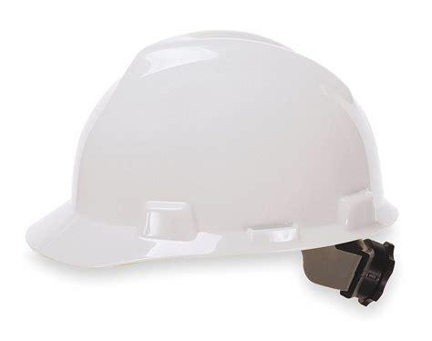 Msa Front Brim Hard Hat, Type 1, Class E Ansi