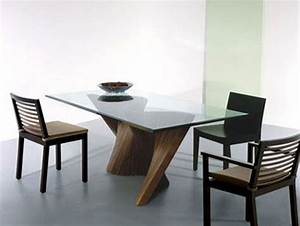 choosing the type of modern glass dining table that With choosing glass dining room tables for small space