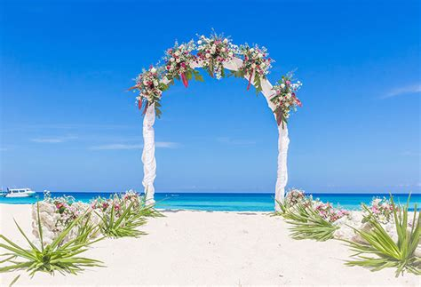 photography backdrops beautiful beach wedding background
