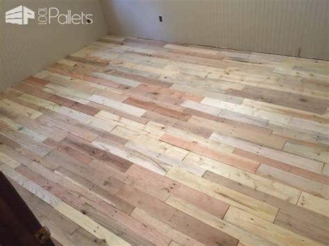 pallet wood floors  ways  pallets