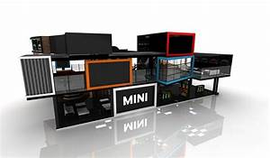 Mini Cooper Expo Booth On Behance