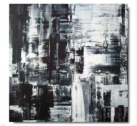 Abstract Black Painting by Black And White Abstract Painting Abstract Painting