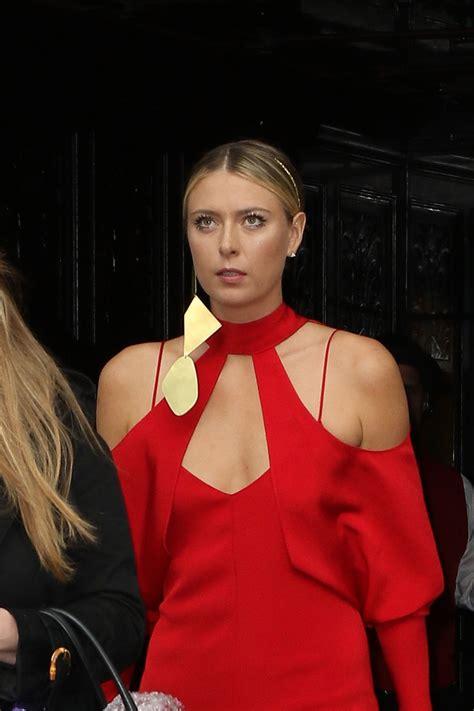 Maria Sharapova Leaving The Bowery Hotel Met Gala