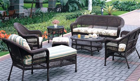 Patio Furniture Prices by Corona Wicker Sofa Group Patio Renaissance Outdoor