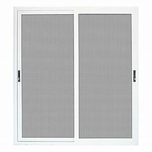 unique home designs 72 in x 80 in white sliding patio With unique home designs screen door