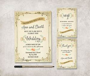 rustic wedding invitation printable wedding stationery With free printable spring wedding invitations