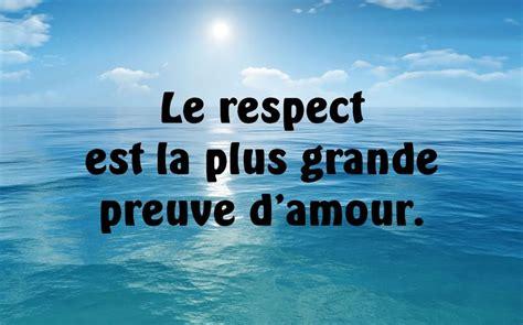 le respect est la plus grande preuve d amour panneaux