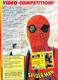 STARLOGGED - GEEK MEDIA AGAIN: 1994: SPIDER-MAN TV VHS ...