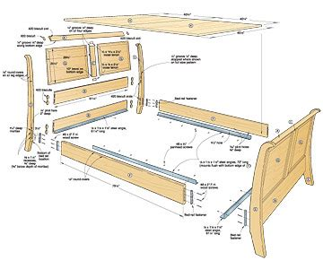 build   bed plans wood magazine
