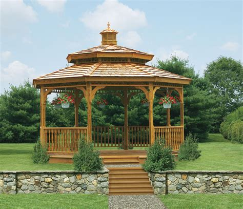 wood gazebos lykens valley gazebos  outdoor living