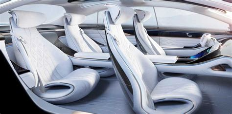 On the inside, those lights continue, with another band of ambient lighting that again could be used for signaling, perhaps flashing red in the direction of. Mercedes-Benz reveals interior images of the EQ concept | Zigwheels