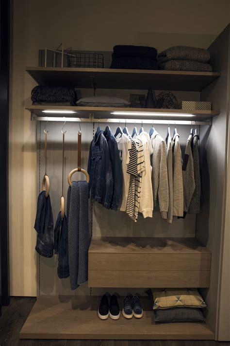 organized wardrobe  space savvy  stylish closet ideas