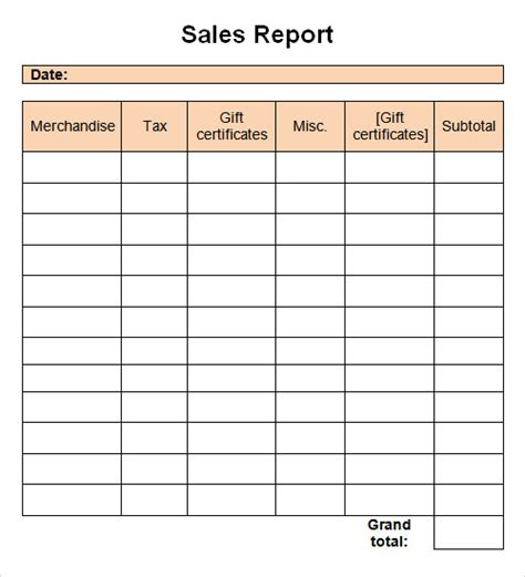 Sle Of Report Writing by Report Template 16 Free Documents In Pdf Word