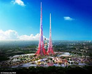 Designs for world's tallest skyscrapers, Phoenix Towers ...