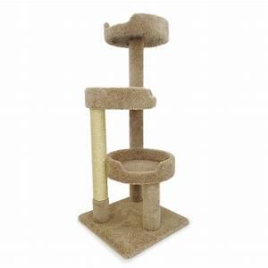 "New Cat Condos 50"" Premier Kitty Pad Cat Tree & Reviews"