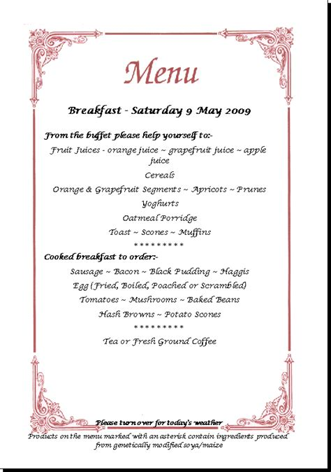 brunch buffet menu breakfast buffet menu www imgkid com the image kid has it