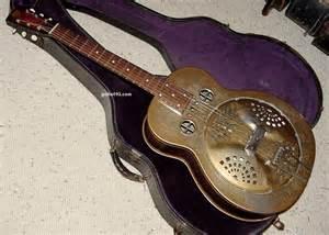 Vintage Dobro Resonator Guitar