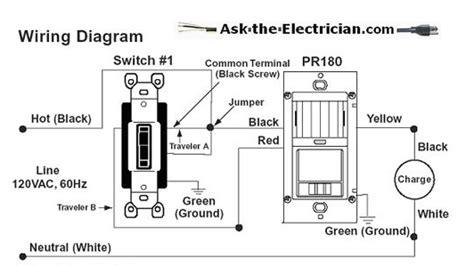 installing a occupancy sensor switch for a bath exhaust fan