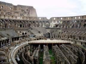 Ancient Rome Colosseum Inside