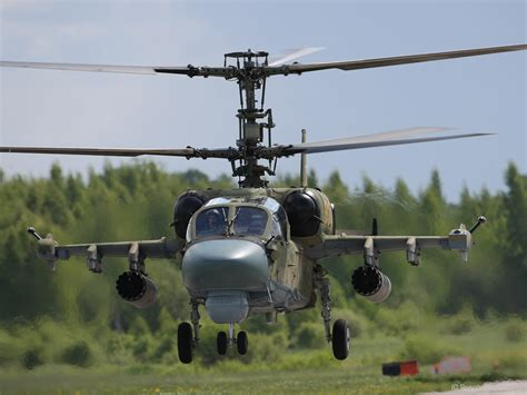 Scout/attack helicopter Ka-52 | Catalog Rosoboronexport