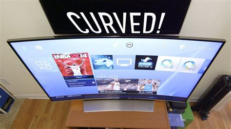 tvs curved
