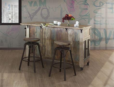 ifd furniture  antique multicolor rustic kitchen