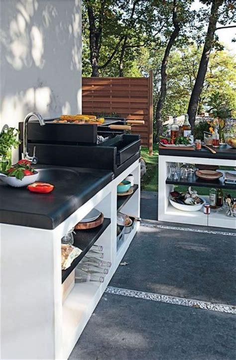 leroy merlin cuisine exterieure cuisine d exterieur en beton