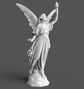 Goddess, Statue, 3d, Model, 3d, Printable, Obj, Stl