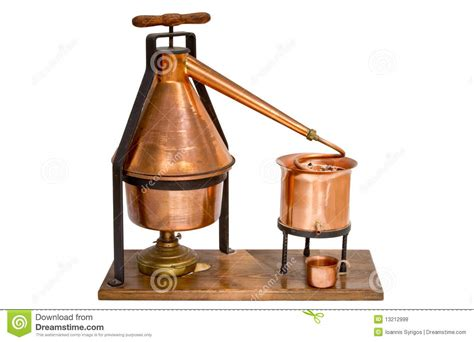Home Distillation Equipment Stock Photo  Image Of Brew