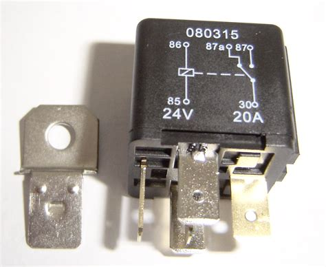 5 Pin Automotive Type 24 Volt 20 30amp Relay Alt Ry8-02