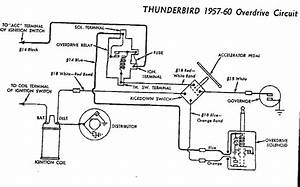 1955 Thunderbird Overdrive Wiring Diagram