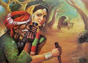 Indian Art on Pinterest | Indian Paintings, Krishna and ...