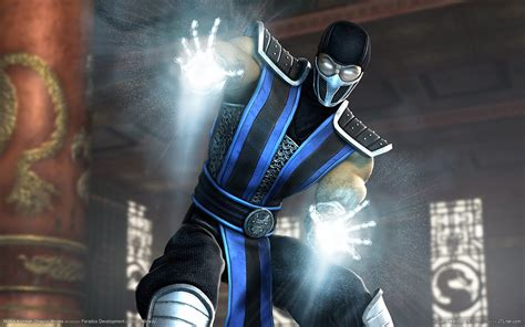 Digital Illustration Of Mortal Kombat Characters The